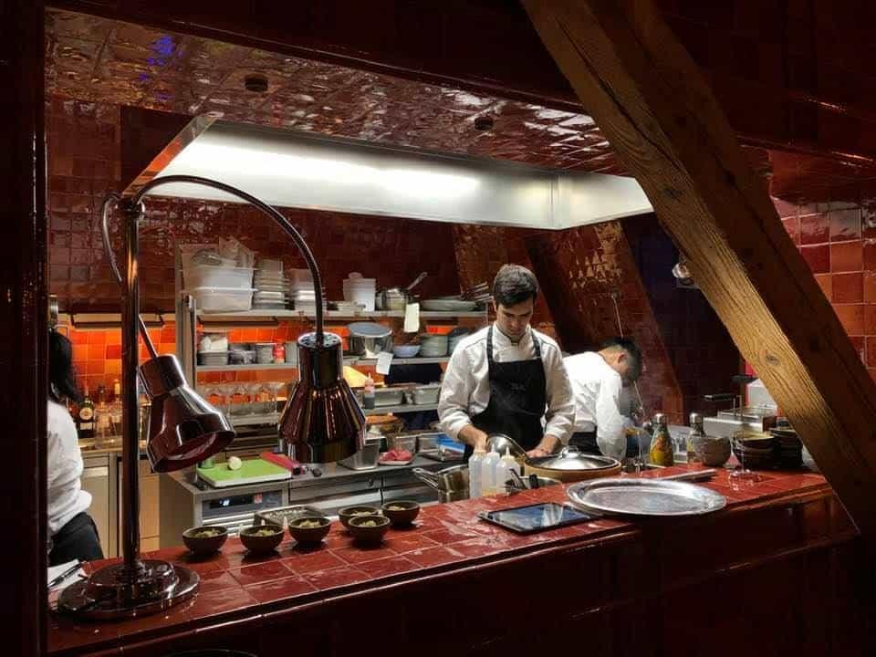 La Muna Restaurant Hotel Eden Au Lac Zurich