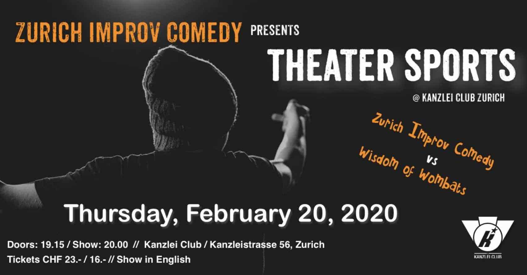 Zurich Improv Comedy Titan versus Titan