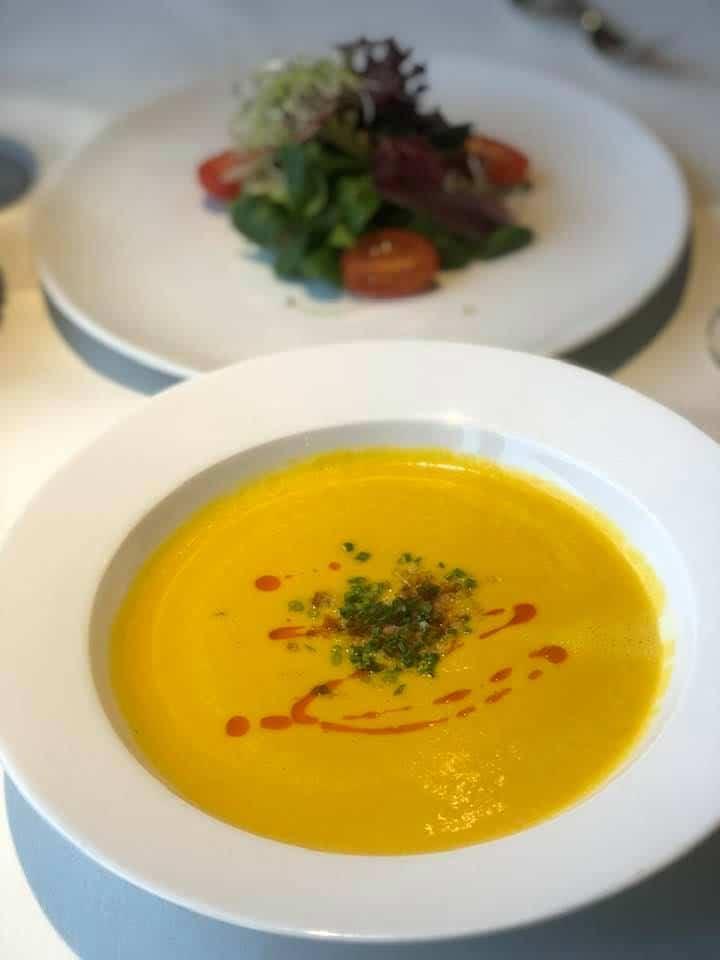 A Delicious Lunch at Restaurant Triangel In Zumikon