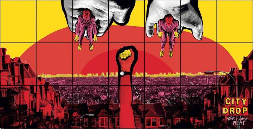 Gilbert & George: THE GREAT EXHIBITION, 1971-2016 at The Luma Westbau Zurich