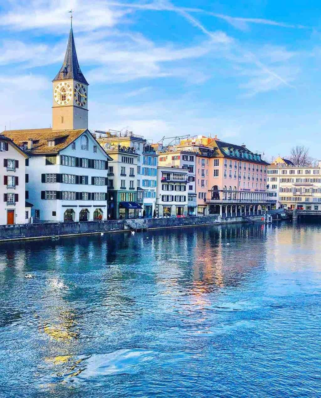 Five Star Brunch With A View at the Hotel Storchen Zurich
