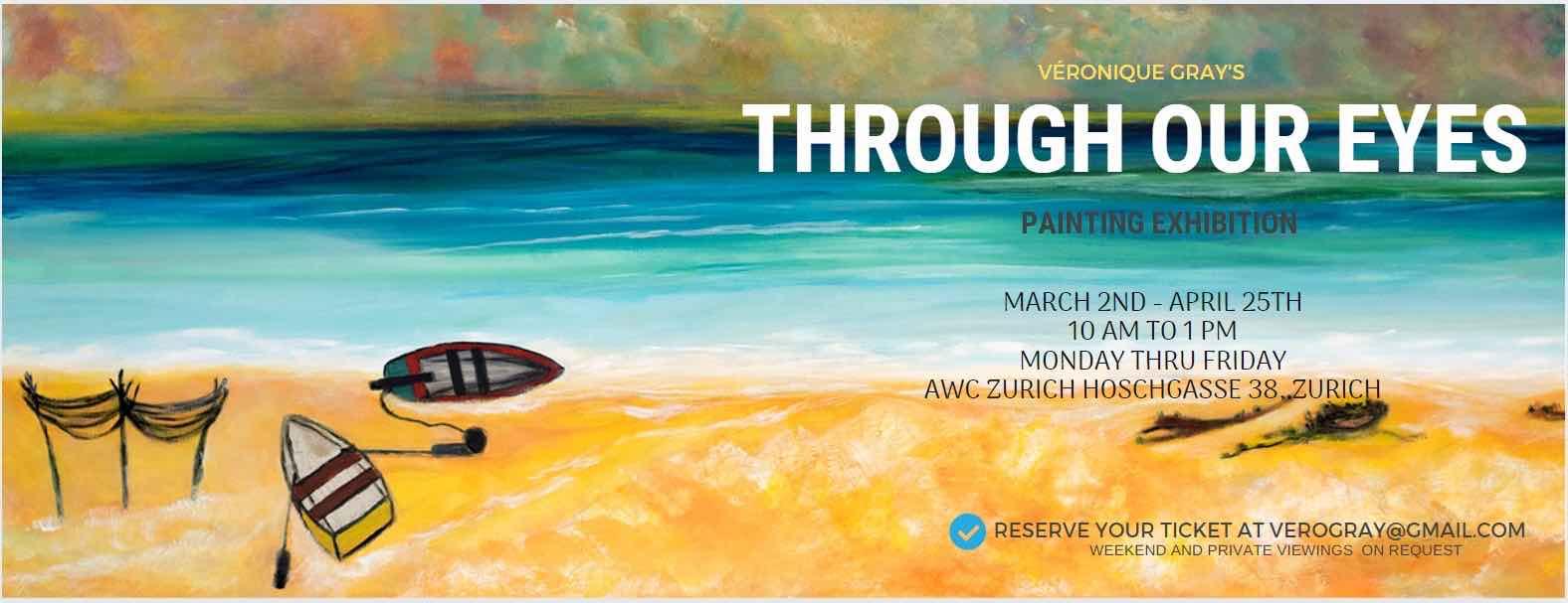 VERONIQUE GRAY'S ART EXHIBITION