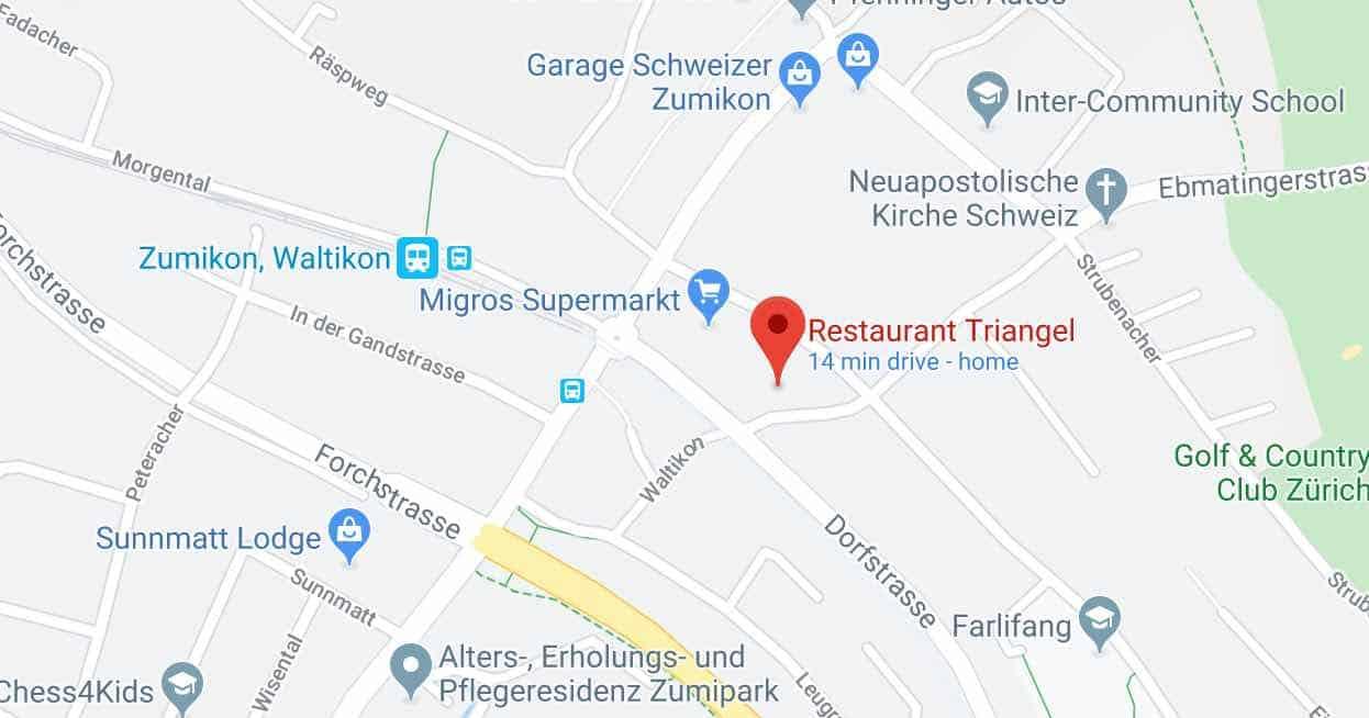 Restaurant Triangel Zumikon Google Maps