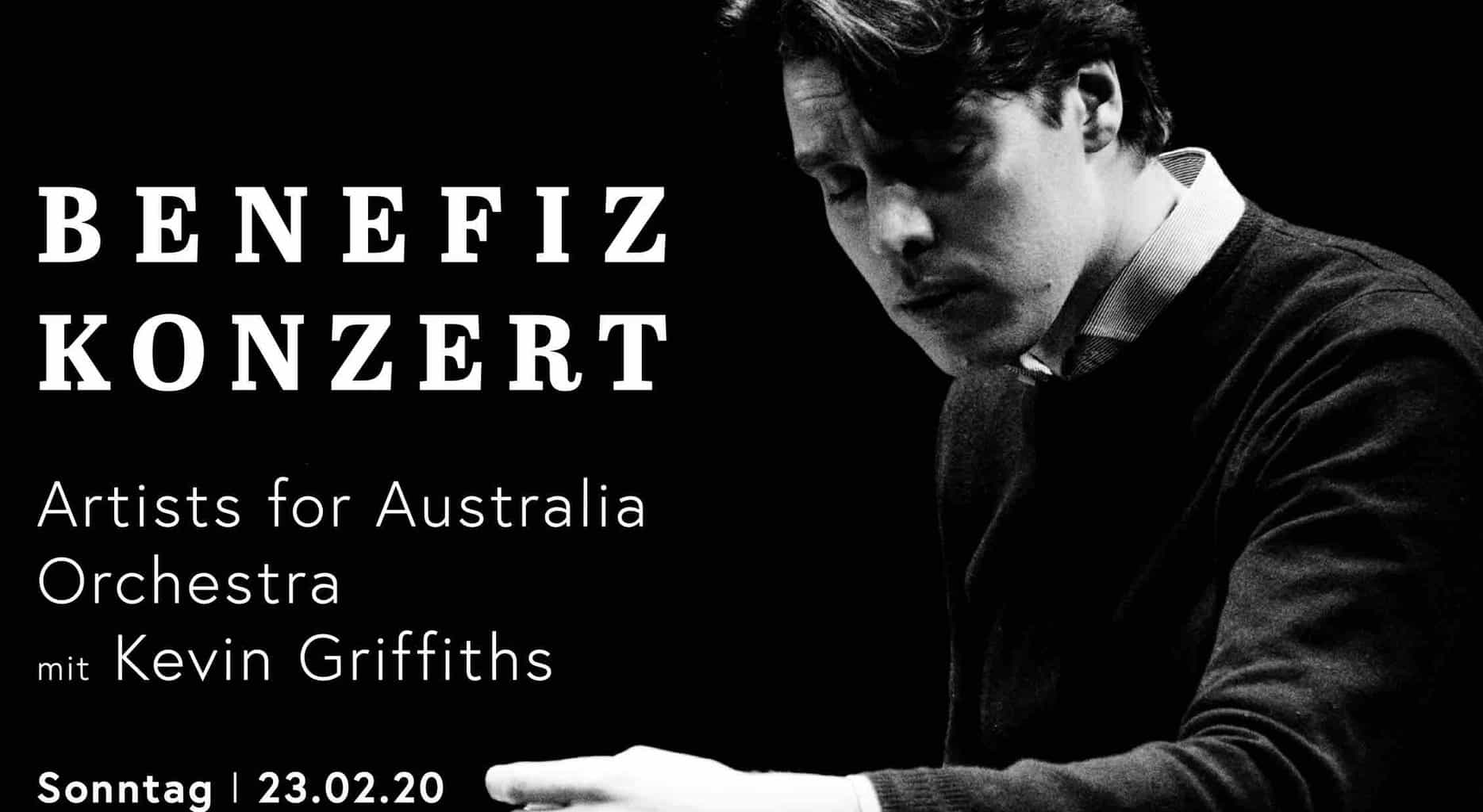 Come To The Benefit Concert for Australia At Grossmünster Zurich!
