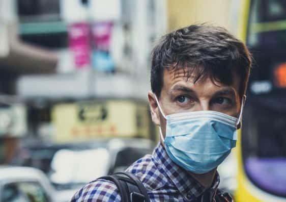 Coronavirus masks Zurich