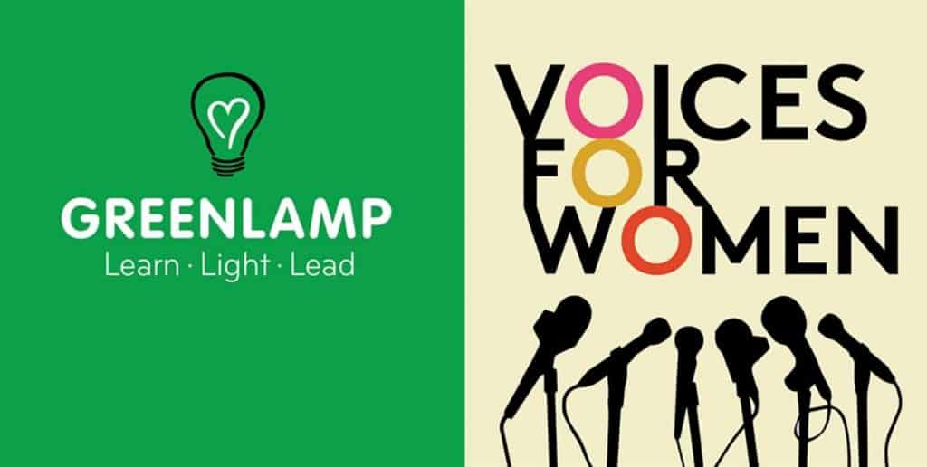 GREENLAMP  VOICES FOR WOMEN FUNDRAISING DINNER 26th MARCH