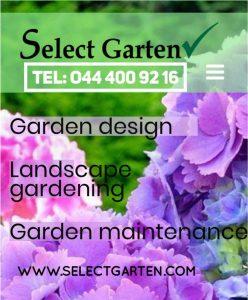 Select garten gardening Services