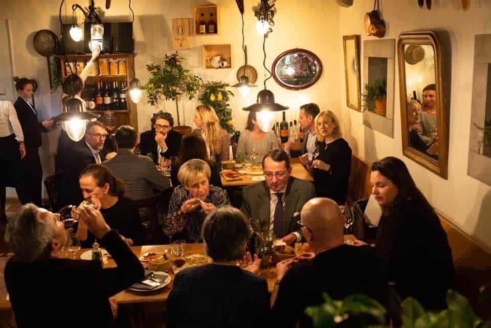 """Gusto Ticino Pop Up at the Widder's """"Zur Schtund"""" in Zurich"""
