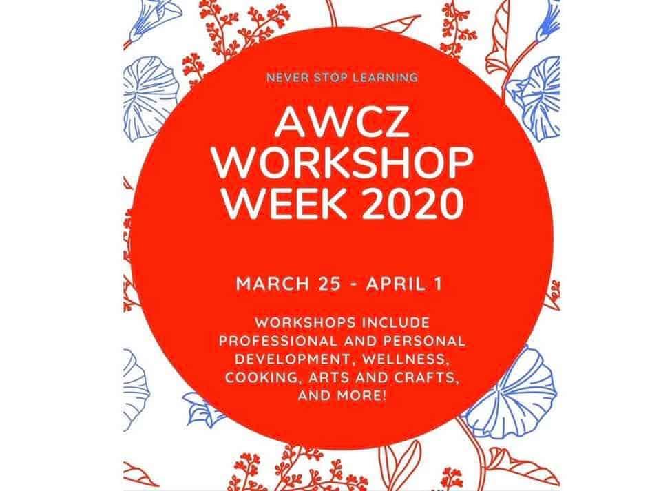 AWC WORKSHOP WEEK