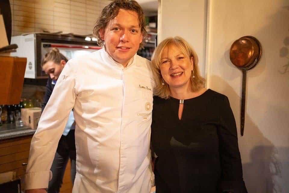 Chef Mattias Roock from Castello del Sole