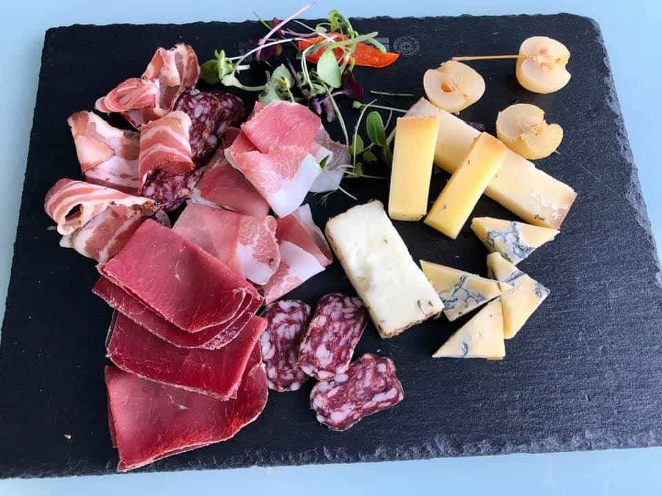 Bündner Teller and Cheese at Dolder Grand Drive Through Zurich