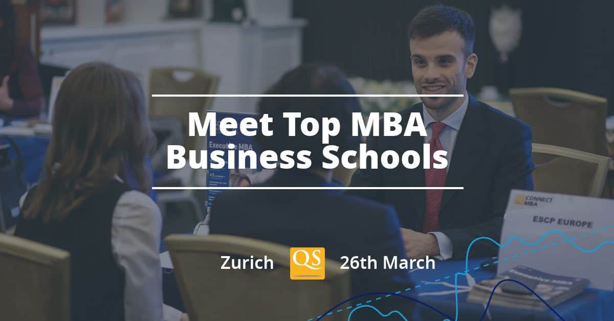 QS MBA EVENT AT MARRIOT HOTEL ZURICH