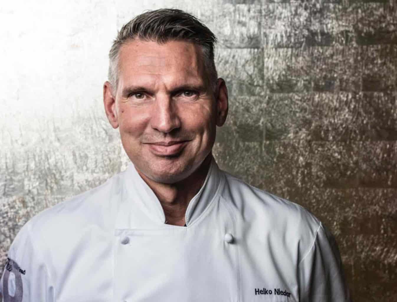 Michelin starred chef Heiko Nieder