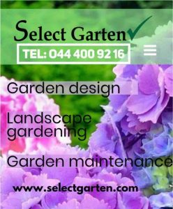 Select Garten advertising image