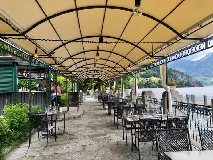 Panorama Terrace Restaurant Hotel Vitznauerhof
