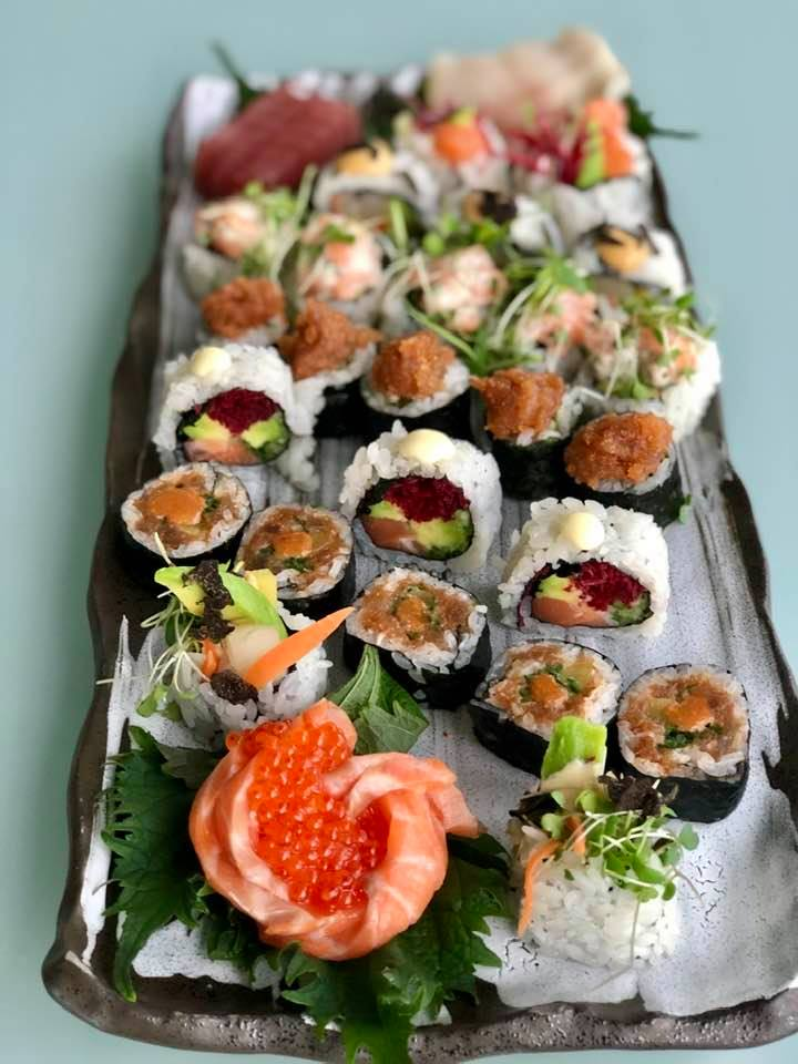 sushi and sashimi HATO Zurich