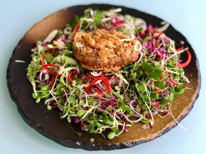 HATO Crispy duck salad takeaway
