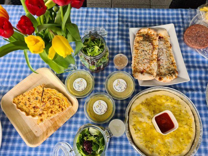 Takeaway Dinner From Luus Muus Cafe in Egg