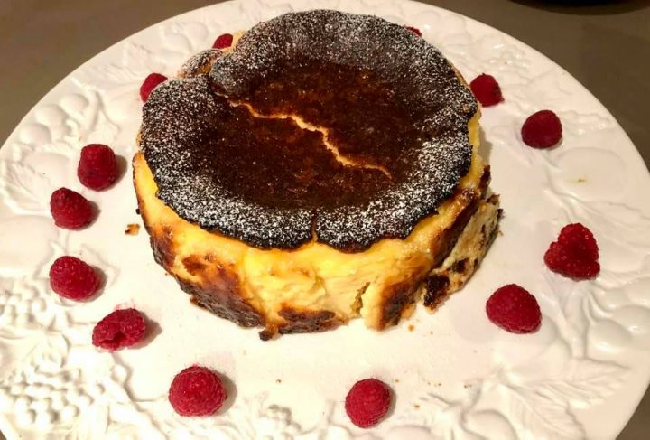 Recipe for Basque Cheesecake - Tarta de Queso