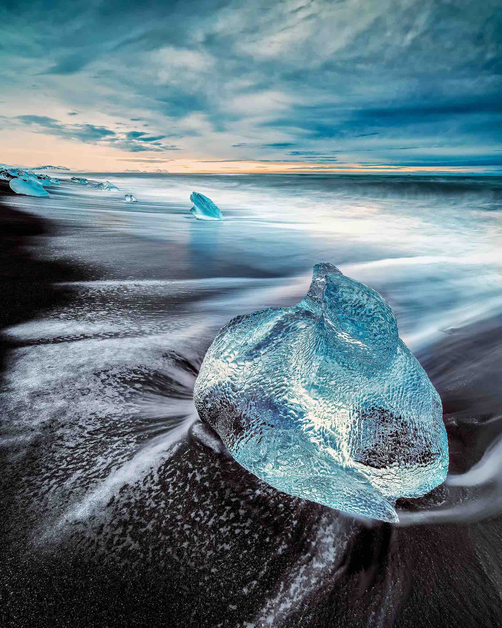 Ice block - Swiss School of Photography Photography Courses