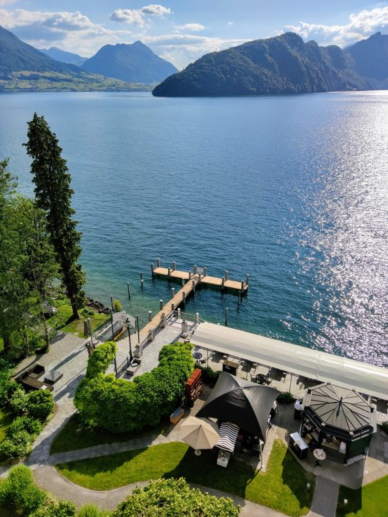 Relax and Chill on the Lake at the Hotel Vitznauerhof