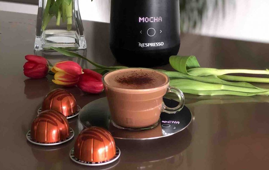 Delicious Nespresso Coffee Recipes -Mocha Hazelino