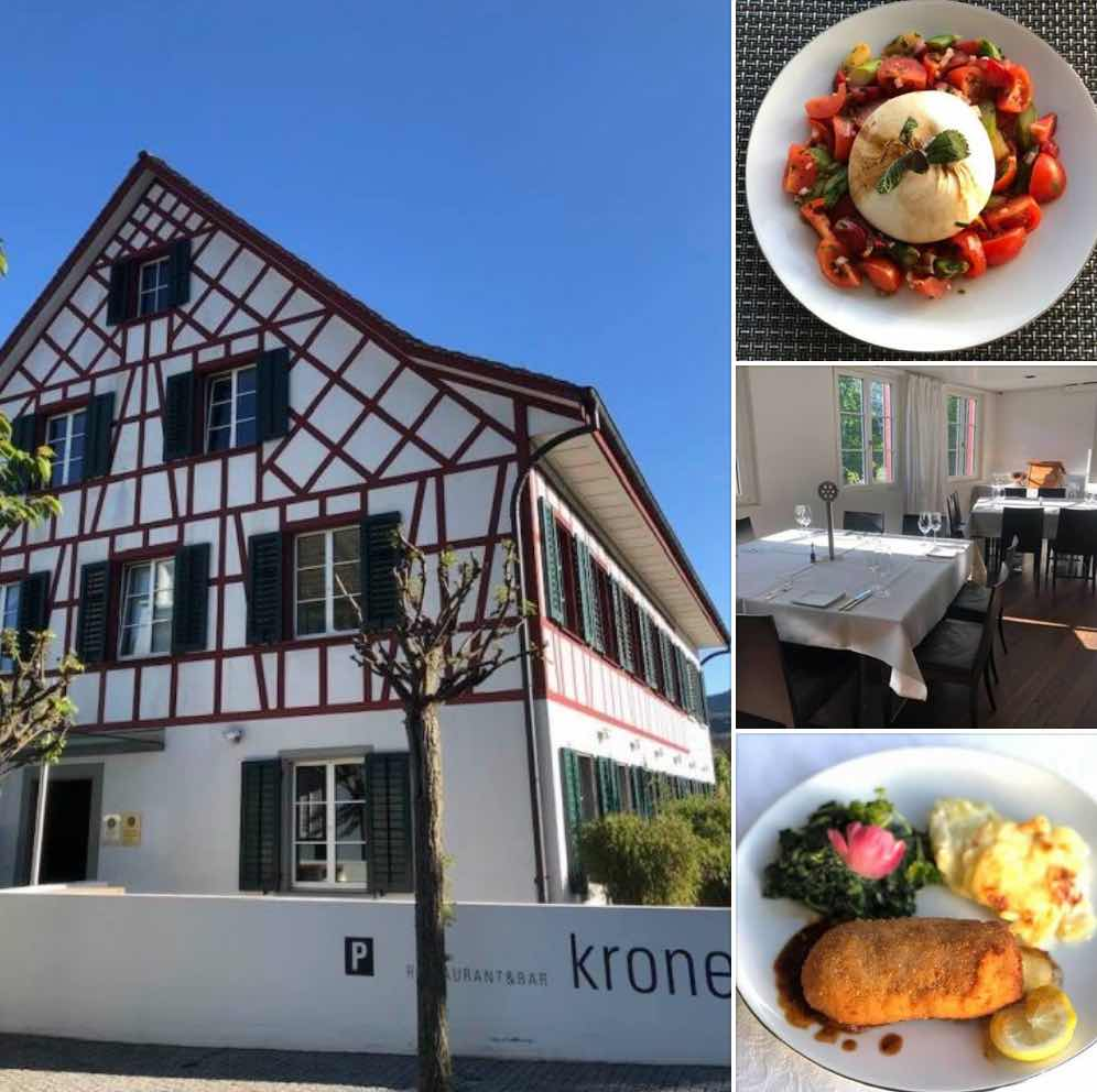 Krone Adliswil Bib Gourmand Restaurant
