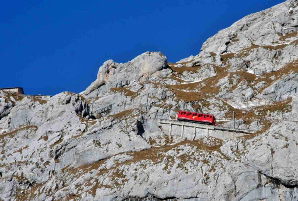 The Pilatusbahn – The Steepest Cogwheel Railway in the World