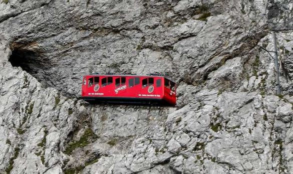 The Pilatusbahn – The Steepest Cogwheel Railway in the World