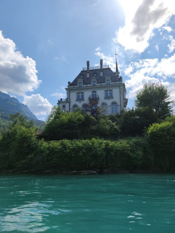 Schloss Seeburg Iseltwald Lake Brienz