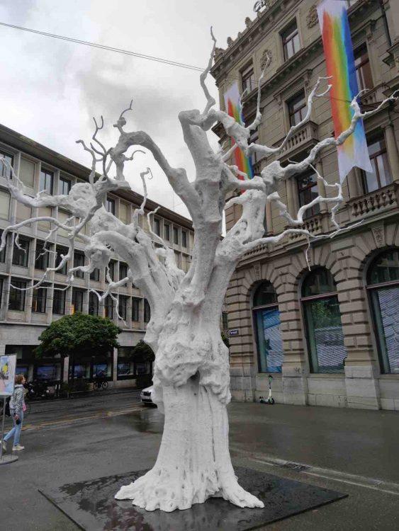 Tree - Outdoor Art in Zurich