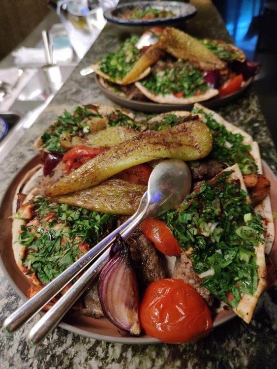 Lebanese Food at Dolder Grand