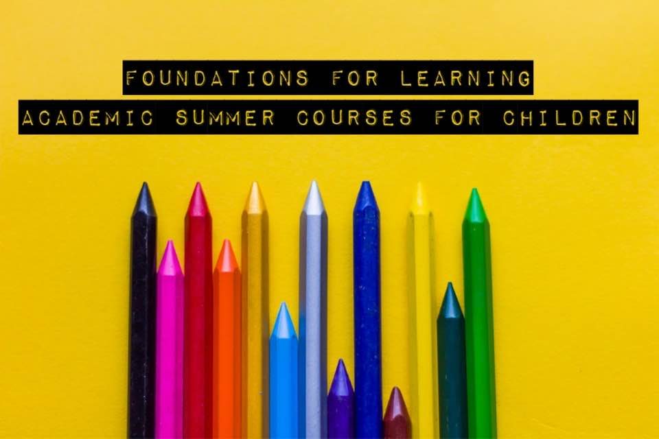 Foundations For Learning Summer Courses for Children