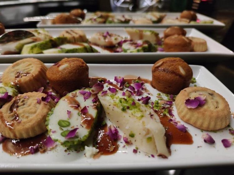 Middle Eastern pastries and desserts