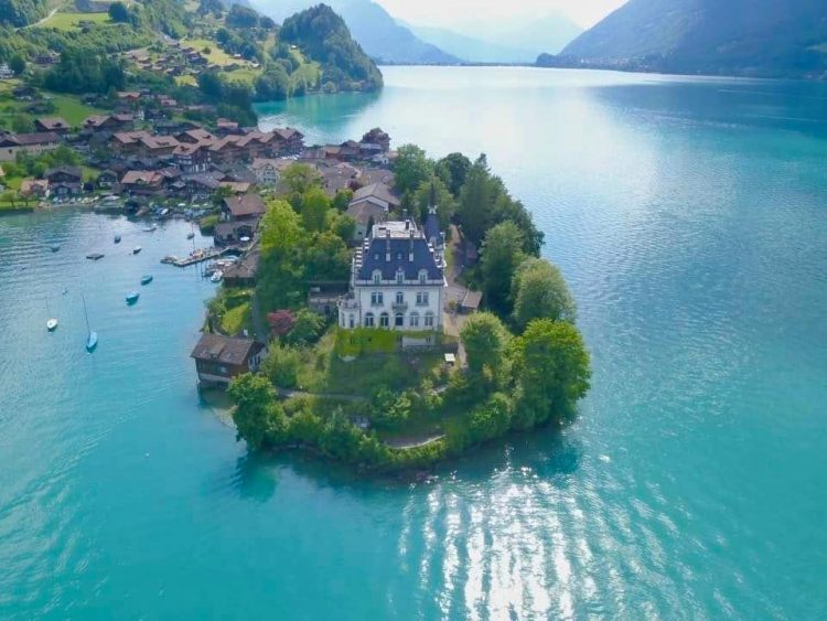 Schloss Seeburg Lake Brienz