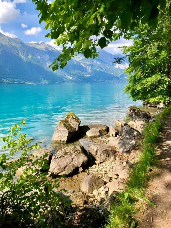 Iseltwald Lake Brienz