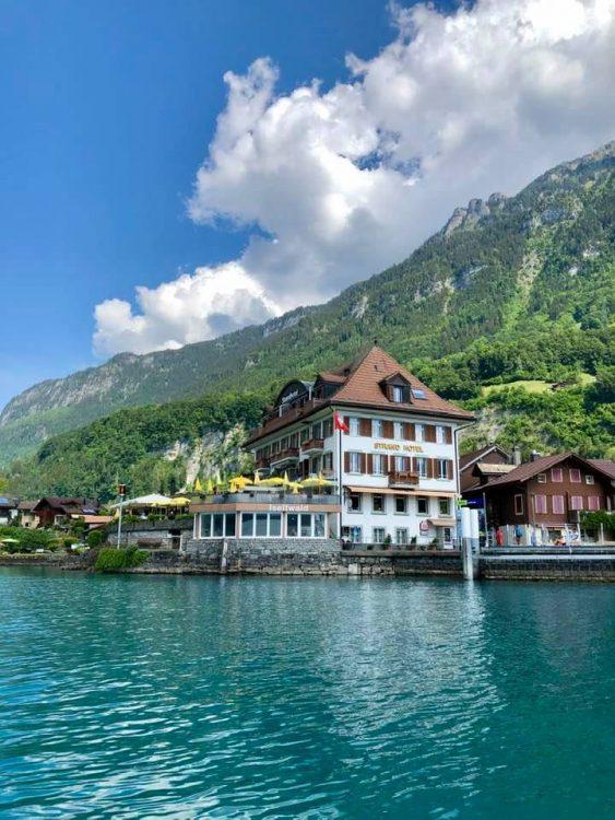 Iseltwald Lake Brienz
