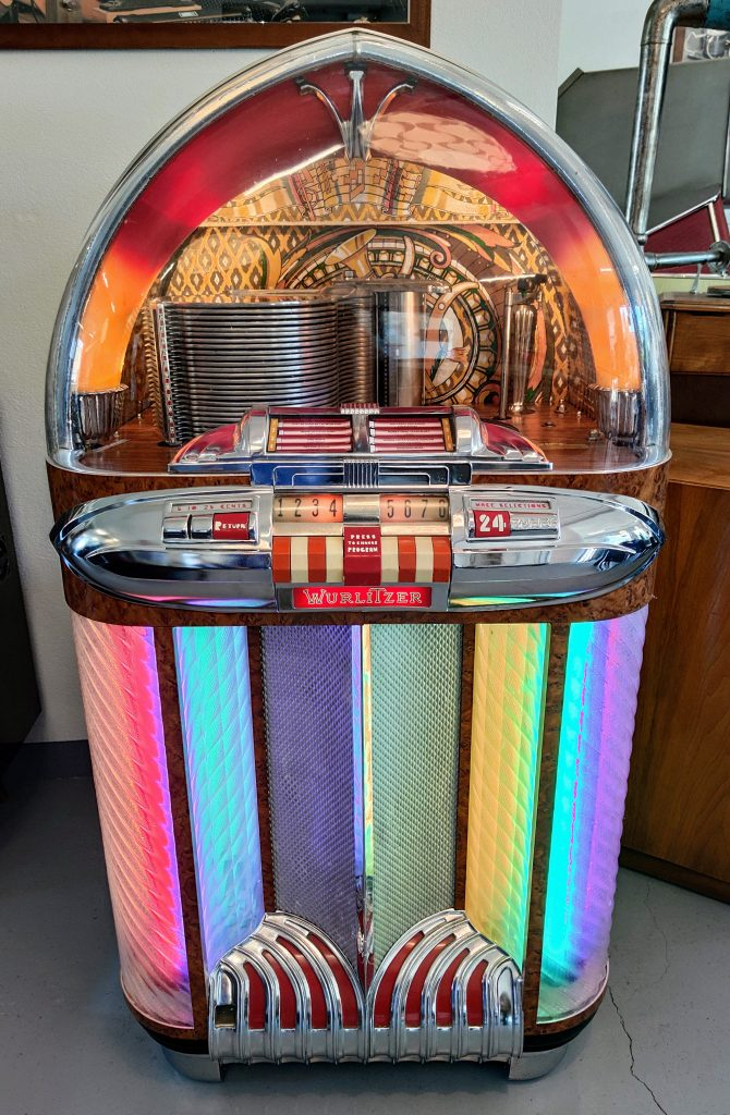 Juke Box at Enter museum Solothurn