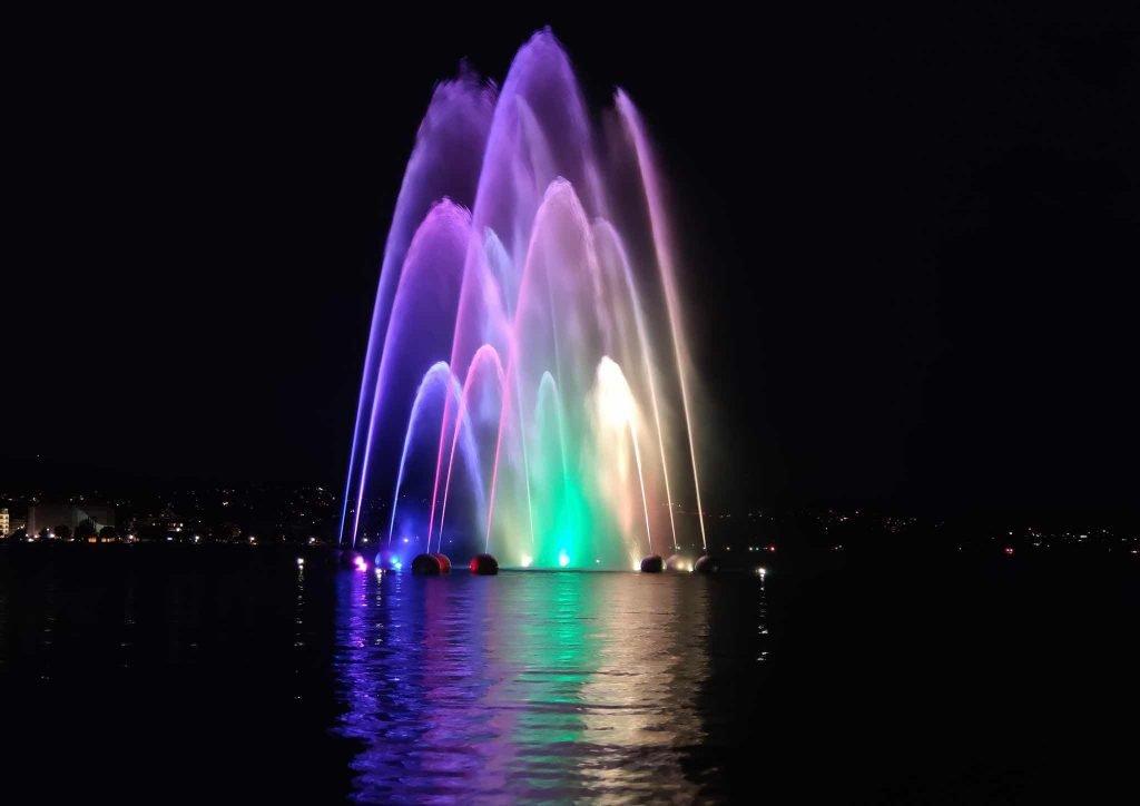 Pride Zurich Coloured Fountain