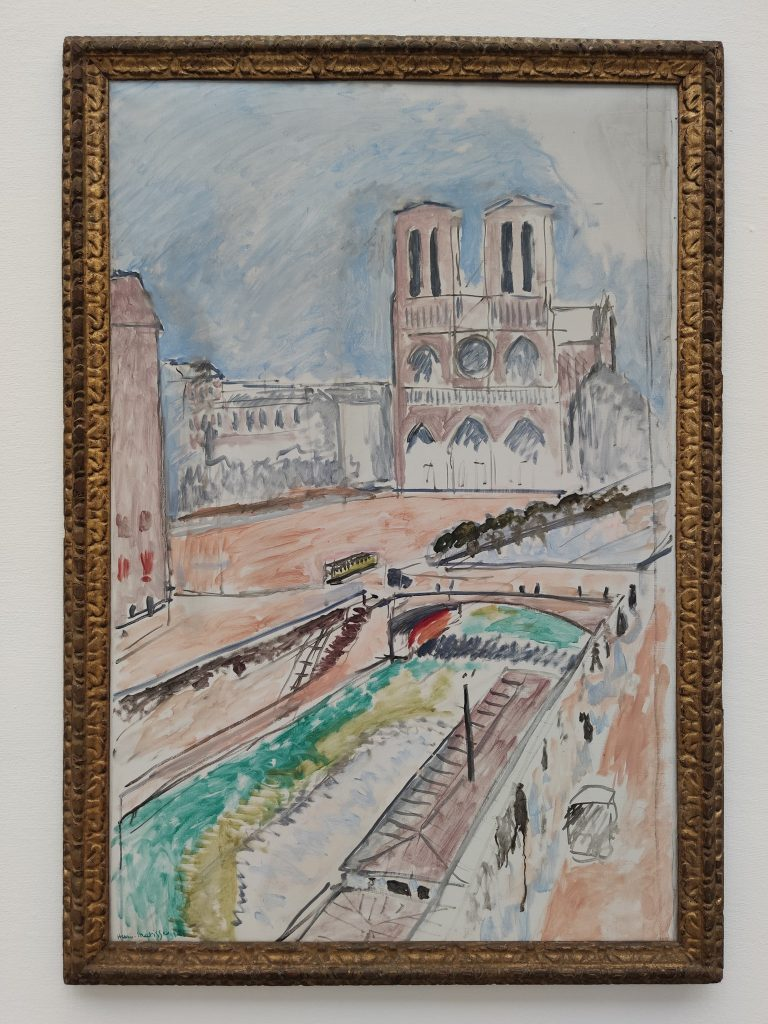 Notre Dame Painting by Henri Matisse at Kunstmuseum Solothurn