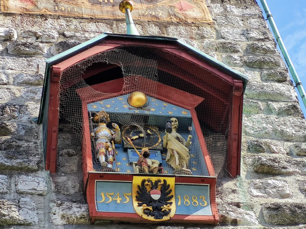 The figures on the The Astronomical Clock Solothurn