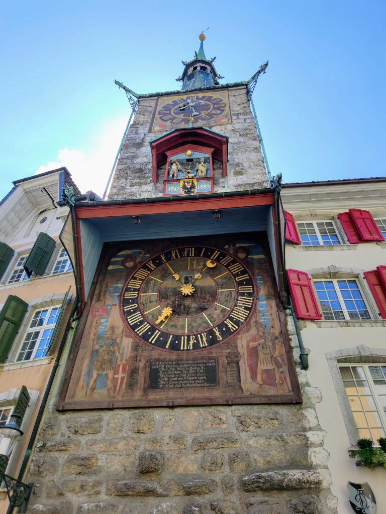 The Clock Tower and Astronomical Clock Solothurn