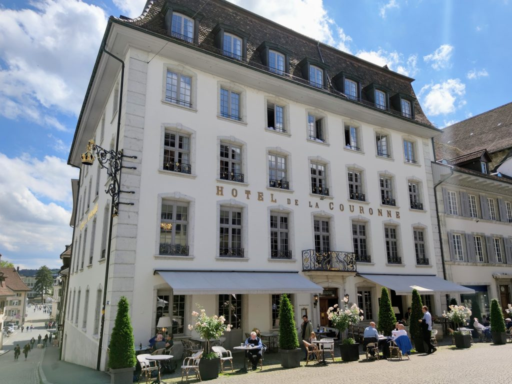 2nd oldest hotel in Switzerland - La Couronne Solothurn