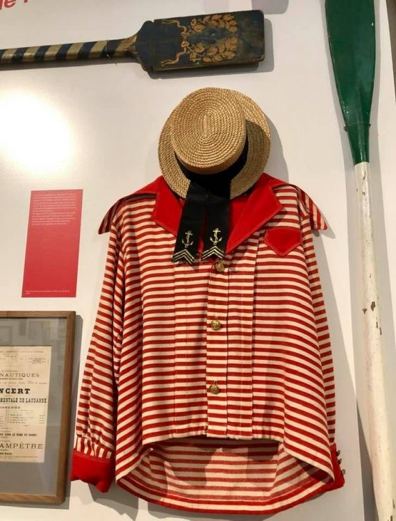 Matelot outfit at Musée du Léman Nyon