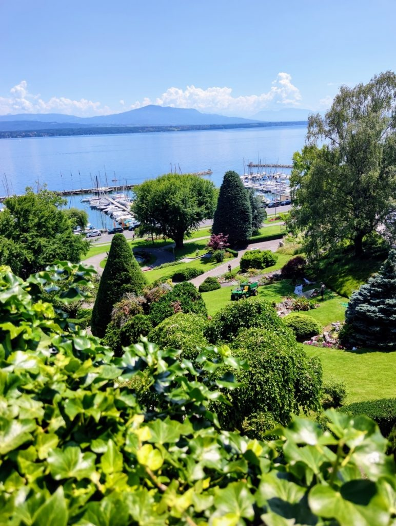 View of Lac Leman from Nyon