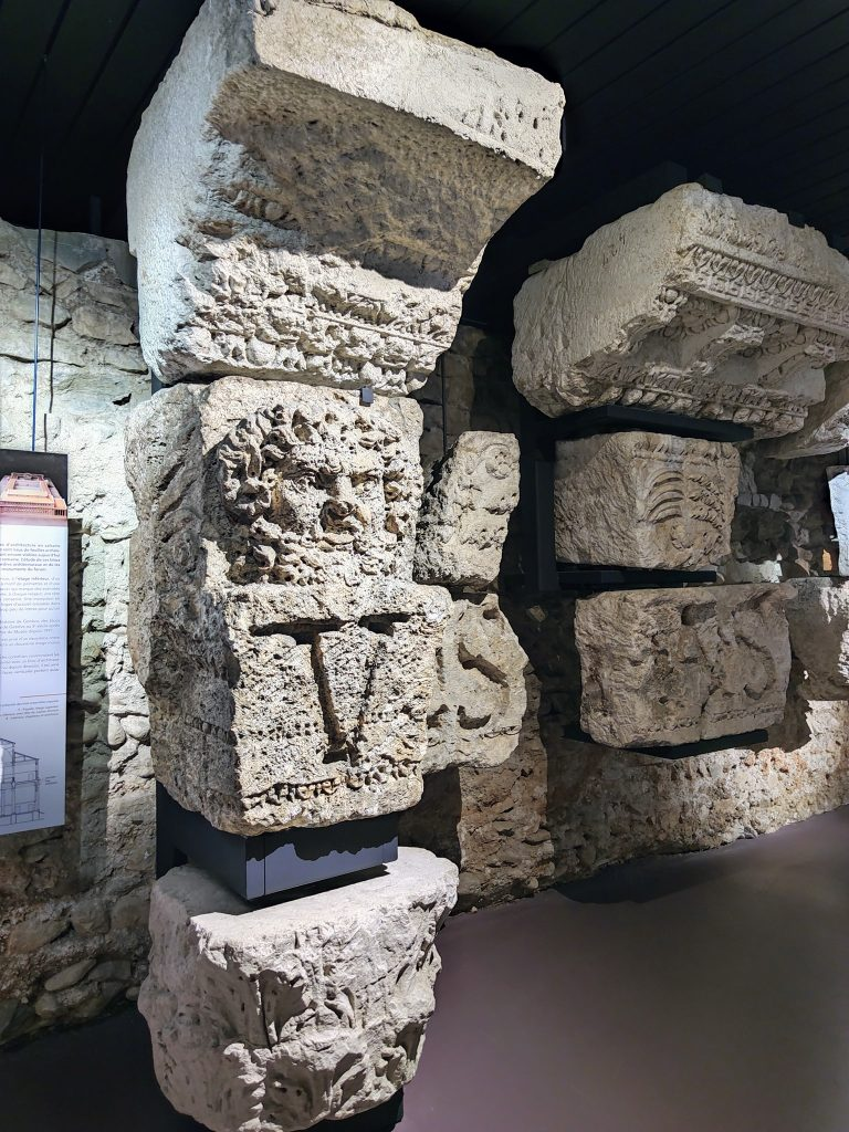 Roman Columns Nyon Switzerland