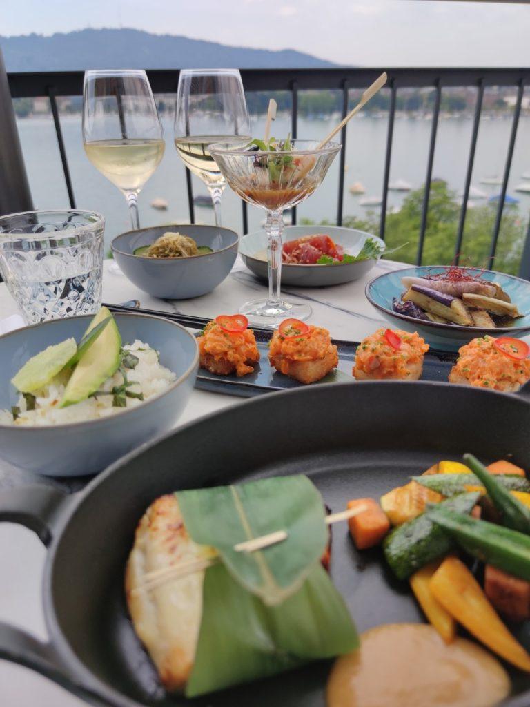 Lunch On the Rooftop at La Mūna - La Reserve Eden Au Lac Zurich