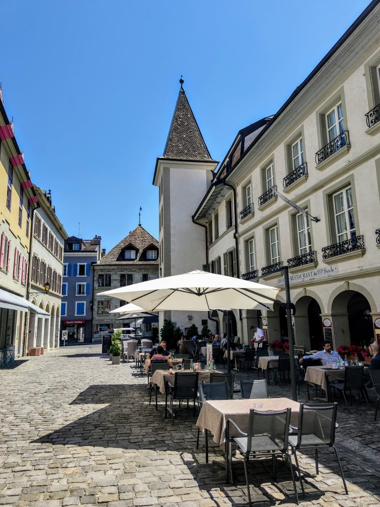 Restaurants and cafes in Nyon