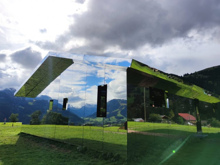 A Visit to the Amazing House of Mirrors Gstaad in Summer
