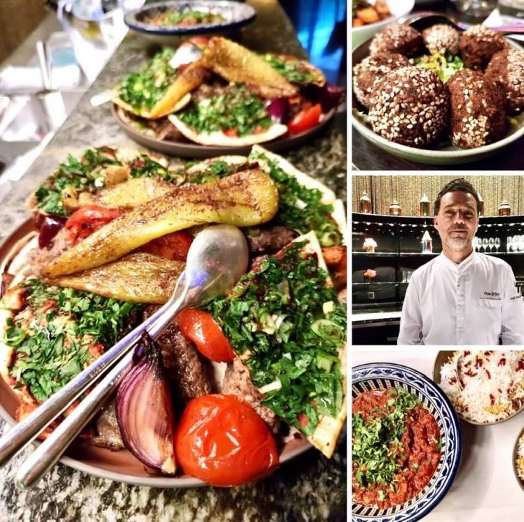 Middle Eastern chef Firas El-Borji at Dolder Pop up